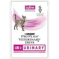 Корм Purina Pro Plan Veterinary diets для кошек при болезнях мочевыводящих путей (Лосось) - 85 г