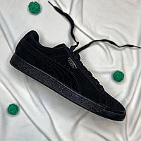 Кроссовки Puma Suede Classic Black Dark Shadow 35263477 размер: 45