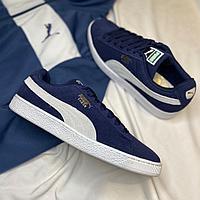 Кроссовки Puma Suede Classic Peacoat White 35656851  размер: 44