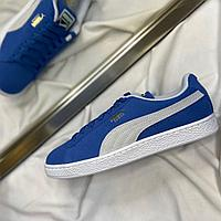 Кроссовки Puma Suede Classic Olympian Blue White 35263464 размер: 45