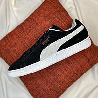 Кроссовки Puma Suede Classic Black White 35263403 размер: 44,5, фото 1