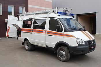 Аварийно-спасательный автомобиль АСМ-7(2705)  На базе ГА3-2705