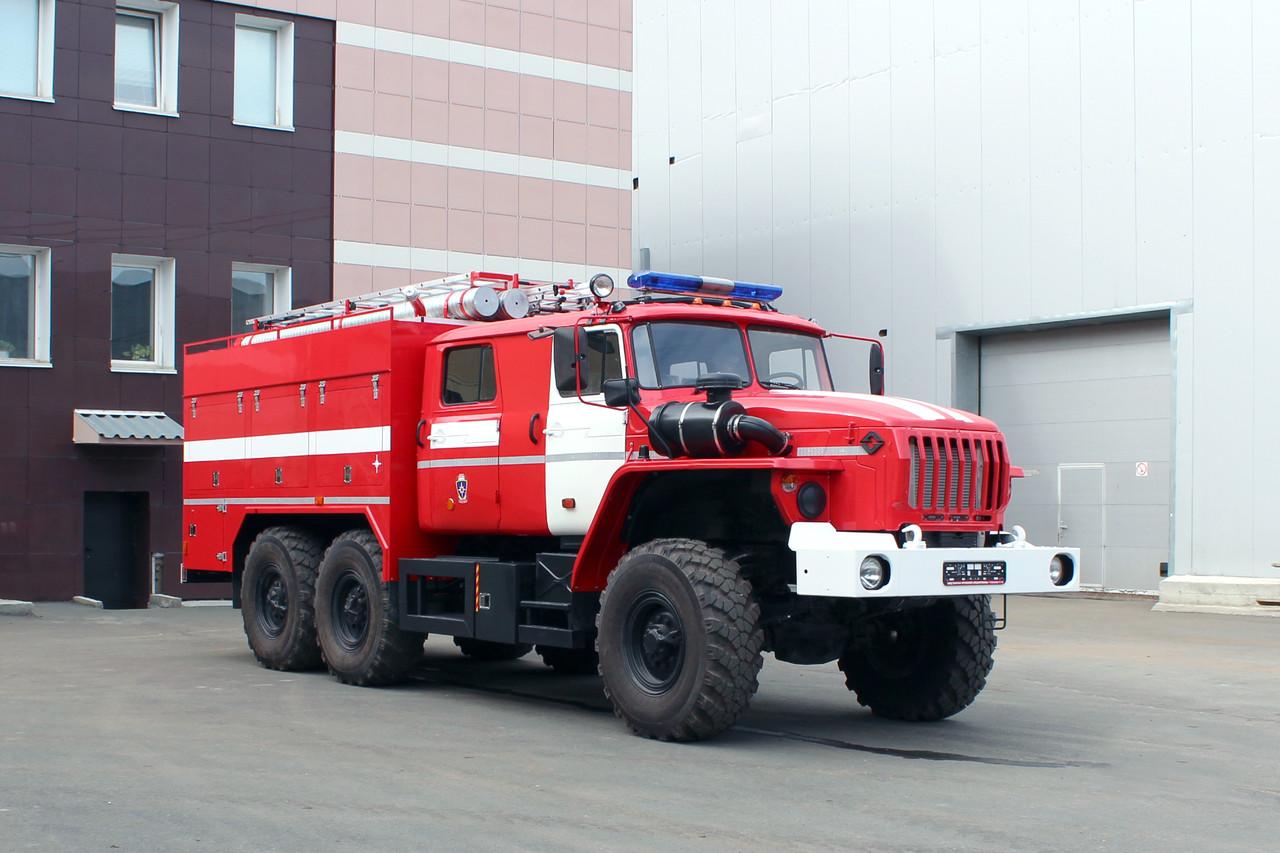 Автоцистерна пожарная АЦ-3,0-40 NATISK (5557) на базе Урал 5557