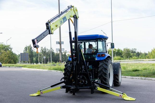 Кран-манипулятор тракторный DL Agro, фото 2