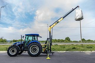 Кран-манипулятор тракторный DL Agro, фото 3