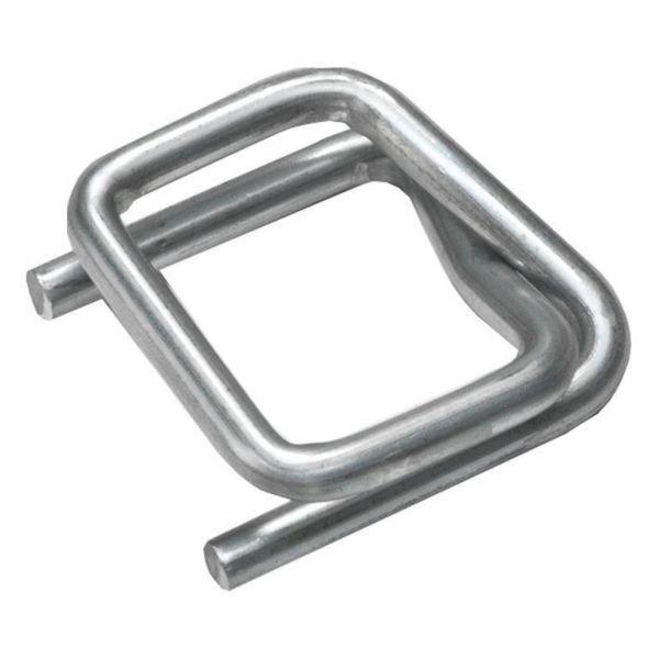 Пряжка проволочная металлическая PR-19 (3,6) цинк блестящий
