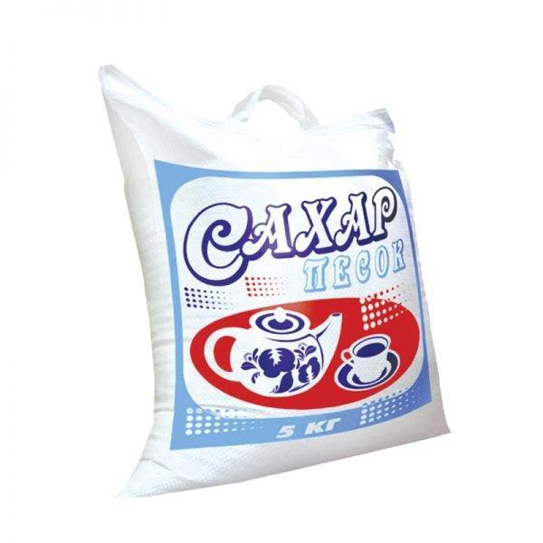 Сумка 5 кг Сахар Краснодарский(35х45)