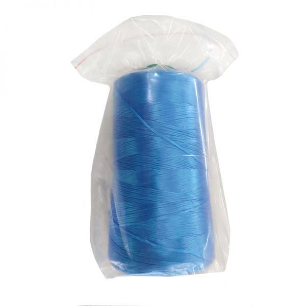 Нитки для мешкозашивочных машин, облегченные, синие, 1000 м