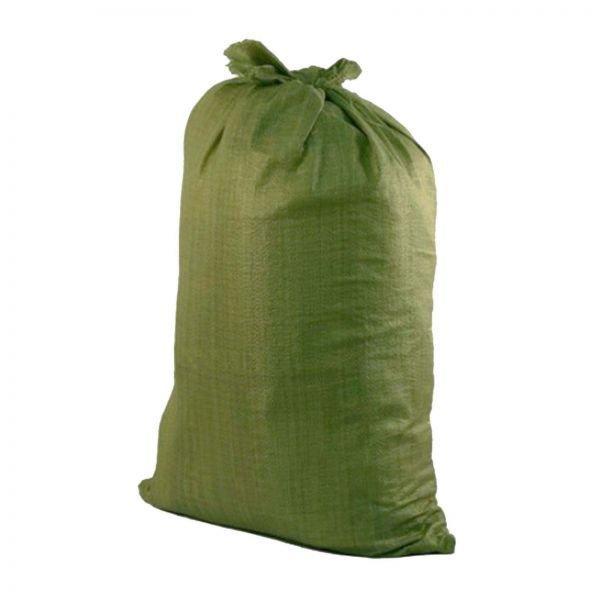Мешок полипропиленовый зеленый 90*130