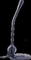 Микрофон компьютерный Defender MIC-117 черный, кабель 1.8 м