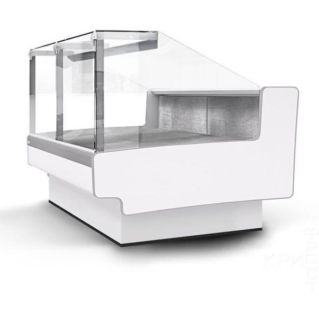 Холодильная витрина Aurora SQ Закрытый угол 45 вентилируемая
