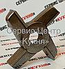 Нож двухсторонний МИМ 300 (без бурта) Хром, фото 3