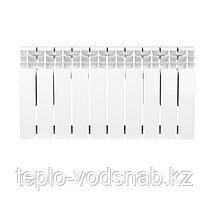 Алюминиевый радиатор UNO-LOGANO 350/100 (10секц), фото 2