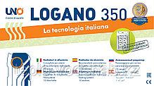 Алюминиевый радиатор UNO-LOGANO 350/100 (10секц), фото 3