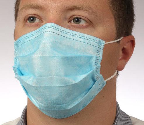 Медицинские маски трехслойные заводские (c документами), фото 2