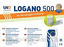 Алюминиевый радиатор UNO-LOGANO 500/100 (10секц), фото 3