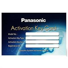 WEB ключ активации 8-ми каналов на 1 базовую станцию Panasonic KX-NSE201W
