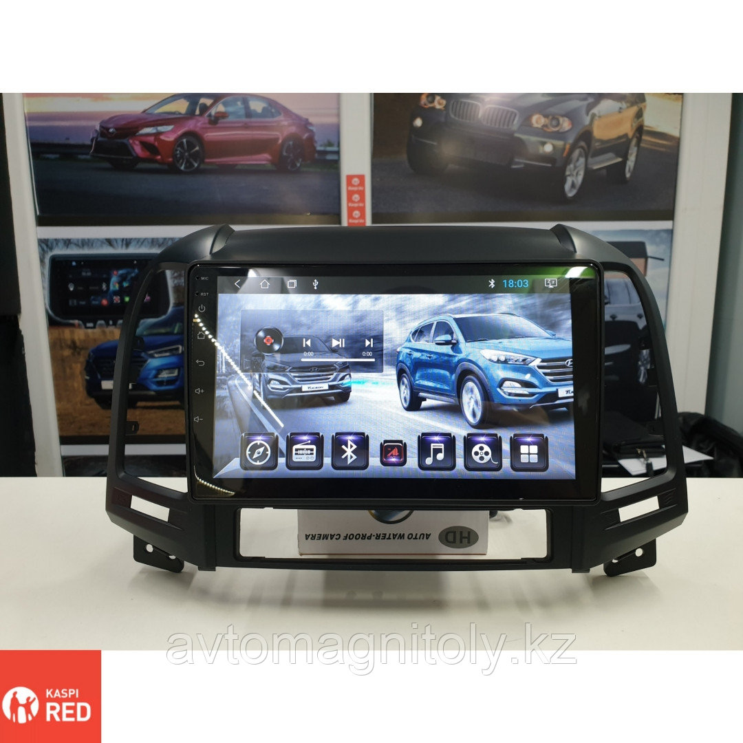 Автомагнитола AutoLine Hyundai Santa Fe 2007-2012/8 ЯДЕРНЫЙ