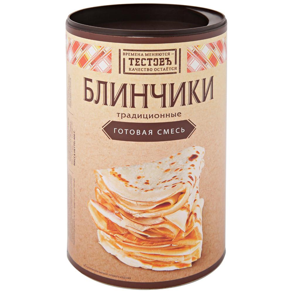 """Сухая смесь Блинчики Традиционные """"ТестовЪ"""" 400 г"""