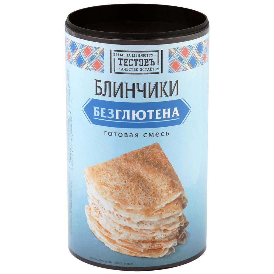 """Сухая смесь Блинчики Традиционные без глютена """"ТестовЪ"""" 400 г"""
