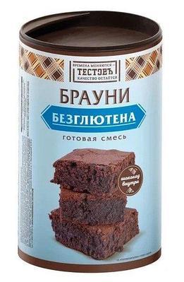 "Сухая смесь Брауни без глютена ""ТестовЪ"" 400 г"