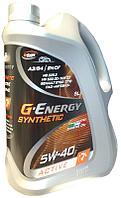 Синтетическое масло G-Energy Syntetic Active 5W-40 5л., фото 1