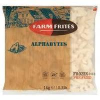 """Картофель фри Алфавит """"Farm Frites"""", 1 кг"""