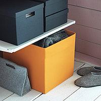ДРЁНА Коробка, оранжевый, фото 1