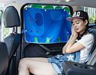 """Солнцезащитная автомобильная шторка,вид """"Динозавр"""", фото 2"""
