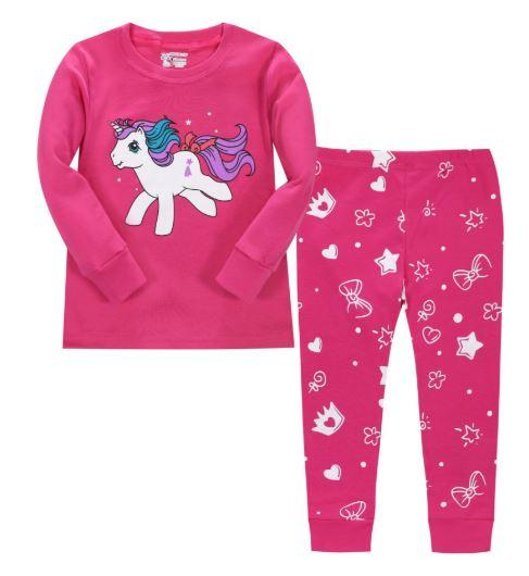 """Пижама для девочки, вид """"Единорог"""""""