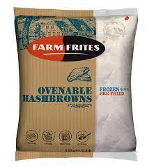 """Картофельные треугольные котлеты """"Farm Frites"""", 2.5кг - фото 1"""