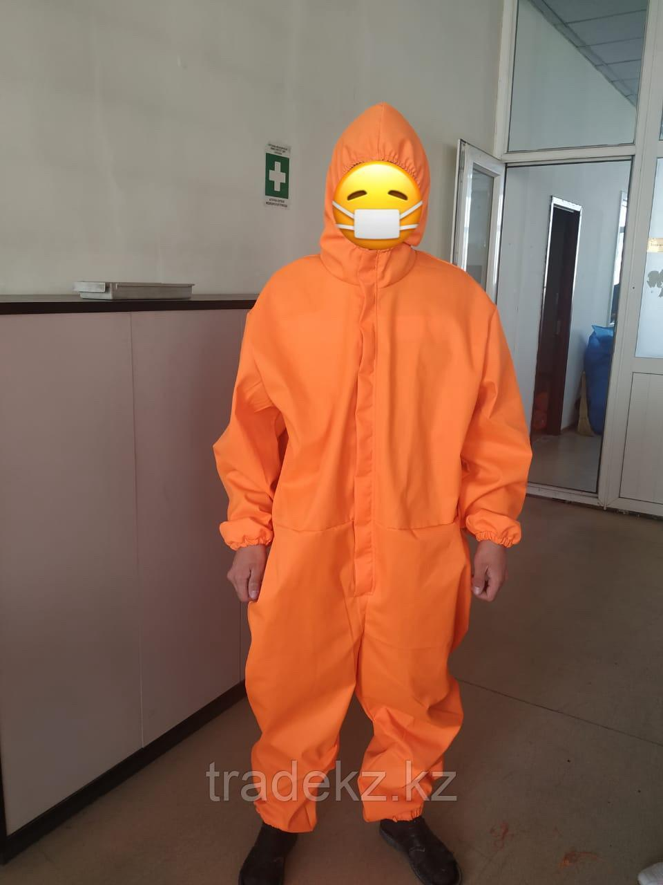 Костюм комбинезон многоразовый, цвет оранжевый
