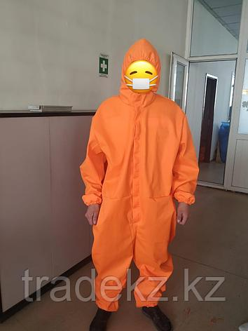 Костюм комбинезон многоразовый, цвет оранжевый, фото 2