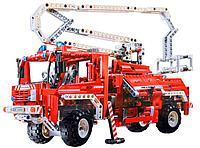 Конструктор BELA Technic 2 in 1 Пожарный грузовик (пластиковый), 1034pcs