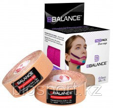 Кинезио тейп для лица, BBTape Face Pack, 2.5 см х 10 м