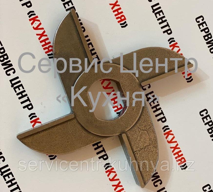 Нож двухсторонний МИМ 600 (без бурта) Хром