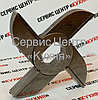 Нож двухсторонний МИМ 600 (без бурта) Хром, фото 3