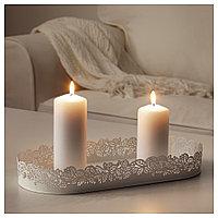 САМВЕРКА Тарелка для свечи овал, фото 1