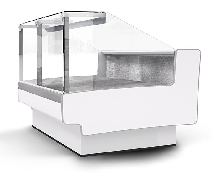 Холодильная витрина Aurora SQ 375 рыба на льду Self