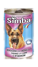 Корм Simba Wet Premium Quality Chunkies with Lamb для собак (Ягненок) - 415 г