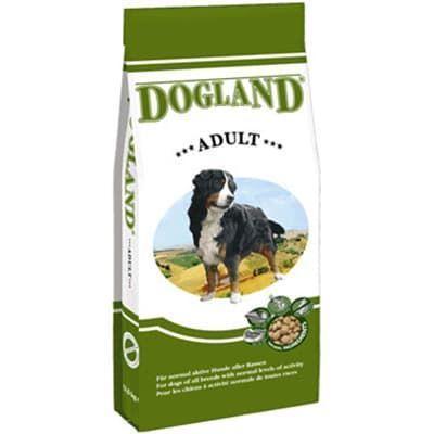 Корм Bewital Dogland Adult для взрослых собак всех пород, не имеющих нагрузок - 15 кг