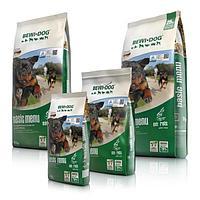 Корм Bewi Dog Basic Menu для взрослых собак всех пород без физических нагрузок (Хлопья) - 25 кг