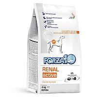 Корм Forza10 Renal Active для взрослых собак при почечной недостаточности (Рыба) - 10 кг