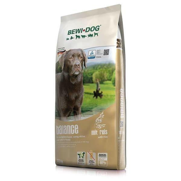 Корм Bewi Balance для взрослых собак средних и крупных пород со сниженным уровнем активности - 3 кг