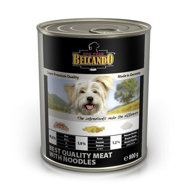 Консерва Bewital Belcando Best Quality для собак (Мясо с лапшой) - 400 г
