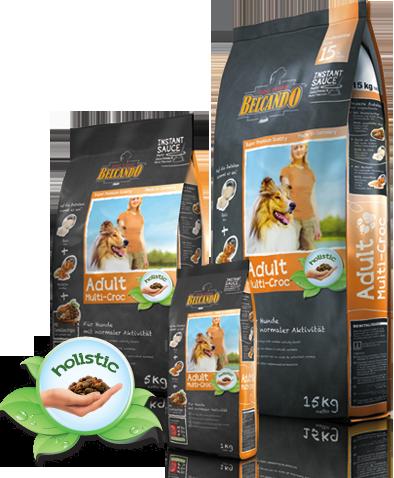 Корм Bewital Belcando Multi-Croc для взрослых собак средних пород (Соусная подливка) - 15 кг