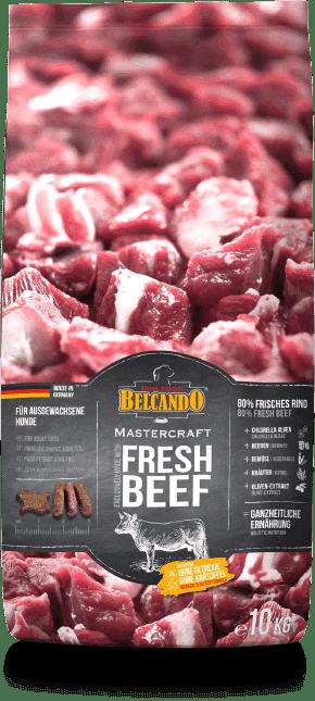 Беззерновой корм Bewital Belcando MasterCraft Fresh Beef для взрослых собак (Говядина) - 2.2 кг