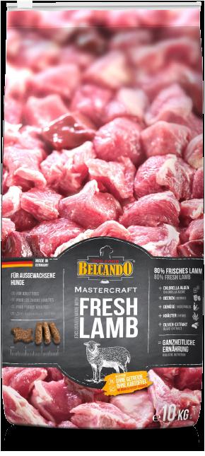 Беззерновой корм Bewital Belcando MasterCraft Fresh Lamb для взрослых собак (Ягненок) - 10 кг
