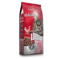 Безглютеновый корм Bewi Cat Delicaties для взрослых кошек (Птица) - 20 кг