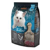 Корм Bewital Leonardo Kitten для котят, беременных и лактирующих кошек (Домашняя птица) - 400 г